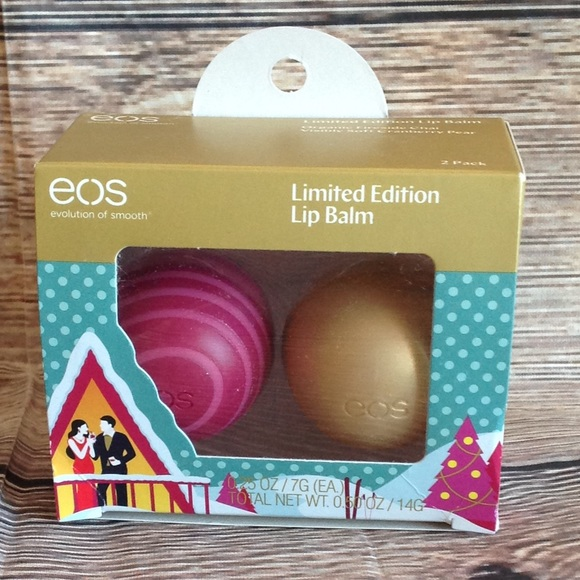 eos Other - New Eos Lip Balm Limited Edition Set